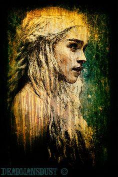 Daenerys by Deadmans-Dust.deviantart.com on @deviantART