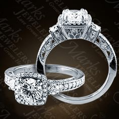Marks Jewelers: Details | Diamond Engagement Rings (140-02089)