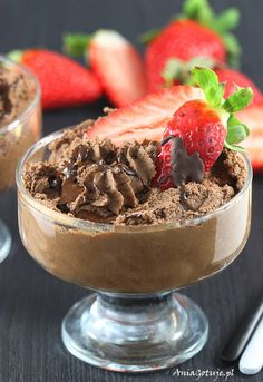 Jello, Acai Bowl, Mousse, Food And Drink, Gluten, Pudding, Cakes, Chocolate, Breakfast
