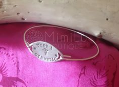 Medical Alert Jewelry  Medical ID Bracelet  Hand by mimiluboutique, $36.00