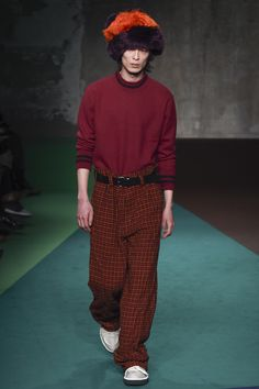 bigger tha better  See the complete Marni Fall 2017 Menswear collection.