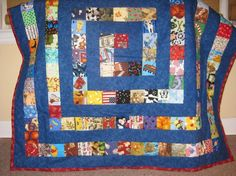 I Spy quilt! Would be a good family collaboration project for a new baby, or resource to make for an infant/toddler program.