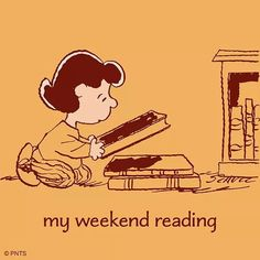 Prepping my weekend reading 📚 Sweet Love Quotes, Love Is Sweet, Good Books, Books To Read, Lucy Van Pelt, Steam Education, Creature Of Habit, Peanuts Characters, Friday Motivation