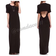 5 Star Rated! The Black Maxi Dress