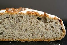 Mat på Bordet: no-knead bread No Knead Bread, Banana Bread, Desserts, Food, Meal, Deserts, Essen, Hoods, Dessert