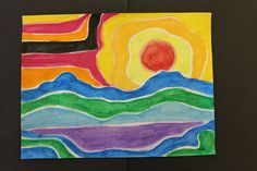 This lesson delivers all the beautiful bright creaminess of paint with none of the mess! Students learn about arctic art and Canadian artist Ted Harrison while creating bold pieces of art with Crayola® Dry-Erase Crayons and water.