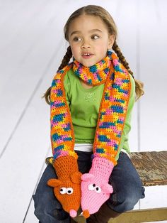 puppet scarf