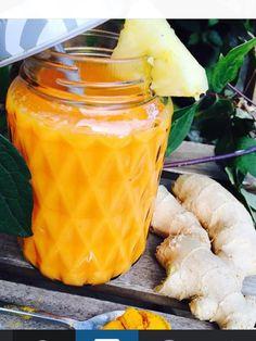 wortel, ananas, banaan ,gember en kurkuma tegen gewrichtspijn
