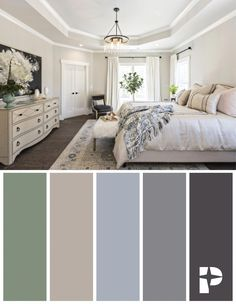 Explore this calm and relaxing color palette in the St. Jude 2018 Coastal Farmhouse inspired Dream Home. Lighting features black or mixed-metal tones and added texture in decor elements add a cozy touch. Coastal Living Rooms, Living Room Decor, Bedroom Decor, Coastal Rugs, Coastal Decor, Bedroom Ideas, Coastal Style, Calm Bedroom, Coastal Curtains