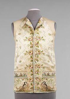 Waistcoat (1780-1800)