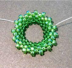 Circular Peyote Stitch Bezel