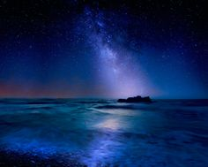Milky Way over Mediterranean Sea -- by Albena Markova on 500px