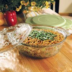 Lean Green Bean Casserole...for Thanksgiving in our Princess House Fantasia 2 quart casserole
