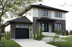 Plan de maison no. W3714-V1 de dessinsdrummond.com