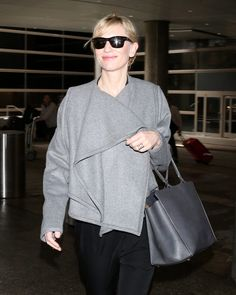 Cate Blanchett at LAX, February 2014