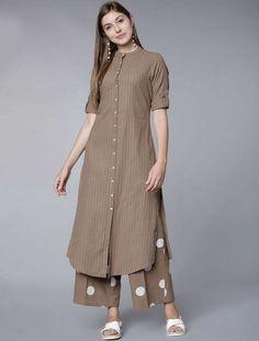 Simple Kurta Designs, New Kurti Designs, Kurta Designs Women, Kurti Designs Party Wear, Stylish Dress Designs, Stylish Dresses, Blouse Designs, Latest Kurta Designs, Stylish Kurtis Design