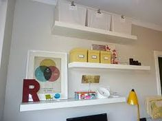 floating shelves bedroom - Google Search