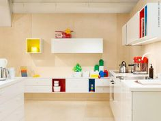 Home and Delicious / ikea metod kitchen...  Mooie bovenkast