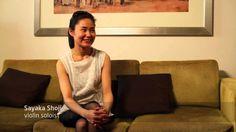 Interview of Violinist Sayaka Shoji
