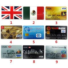 USB Memory stick - credit card shaped