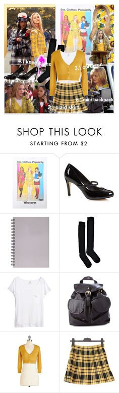 """""""DIY Halloween: Cher Horowitz!"""" by fashionistajane1 ❤ liked on Polyvore featuring mode, American Apparel, Murphy, The Collection, Charli, Boohoo, H&M, Charlotte Russe, clueless en DIYHalloween"""