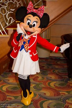 DCL Feb 2012 - Meeting Minnie Mouse