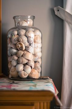 jar of shells Seaside Decor, Beach House Decor, Coastal Decor, Home Decor, Seashell Display, Shell Decorations, Shell Collection, Seashell Crafts, Displaying Collections