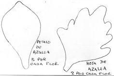 TusFloresParaSiempre.com » Blog Archive » Flor Azalea En Goma Eva.