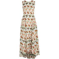 Tory Burch Kendal floral-print silk dress