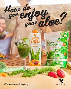 Aloe vera has powerful benefits that help you look better and feel better inside and out. Aloe Vera for Skin, Hair and Plant Care. Forever Living Aloe Vera, Forever Aloe, Aloe Blossom Herbal Tea, Aloe Berry Nectar, Aloe Drink, Best Skincare Products, Daily Vitamins, Super Greens, Forever Living Products