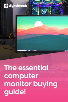 You use it for work. You use it for gaming. You use it to access Netflix, YouTube, and your ex's HBO account. It's your computer monitor! Picking the right one for you is an absolute necessity, and with this guide we point you in the right direction! Hbo Account, Digital Trends, Are You The One, Madness, Netflix, Monitor, Gaming, Youtube, Game
