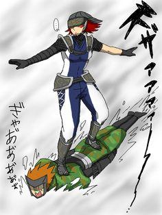 Sengoku BASARA - Fuuma Kotarou & Sarutobi Sasuke.