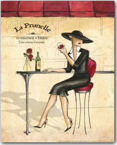 Femme Elegante IV Art Print at Posters2Prints.com