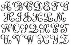 Free Monogram Letters - Bing Images