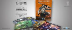 Classified Deck [Inglés]  #InfinityTheGame #CorvusBelli #PanOceania #Haqqislam #Tohaa #Aleph #Ariadna Infinity The Game, Deck, Comic Books, Comics, Cover, Board Games, Get Well Soon, Front Porches, Cartoons