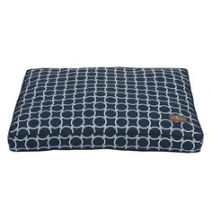 Tolerant to sun damage, the Harbor Pillow Bed is the perfect choice for an outdoor setting but functional to use indoors year round. Fabrics repel against water and are easy to wash clean with a simple wipe down or wash. Machine wash, hang dry. This bed is filled with Sustainafill, eco friendly fiber.  Starting at $120. Sizes include: Small 25″ x 25″ square. Medium 30″ x 30″ square. Large 36″ x 36″ square. Small rectangle 20″ x 28″. Medium rectangle 28″ x 36″.  Large rectangle 36″ x 42″.