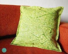 FUNDA COJÍN 004 Lona estampada-Medidas 45x45cm  $ 9.000 unidad  #funda #cojin #hechoenchile #cushion #cover #sofa