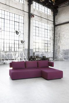 Wind Sofa Bed by Softline industrial living room