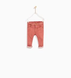 TWILL TROUSERS-TROUSERS-BABY BOY | 3 months - 4 years-KIDS | ZARA United States