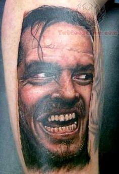 horror movie tattoo sleeve   Unique Horror Tattoo Design