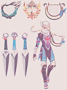 Sheik + weapons concept