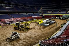 We Crush The Cars': Inside The Monster Truck Arena