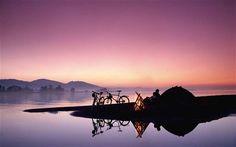 Most popular bike path in Europe:  Lake Constance in Austria/Germany/Switzerland