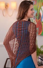 Ravelry: Falling Leaves Shawl pattern by Renee Rodgers