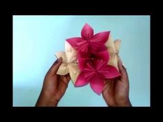 PAPER FLOWER #craft paper