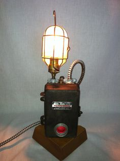 upcycled reclaimed recycled lamp industrial by modernartifactdecor 25000
