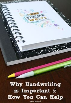 Why Handwriting is Important and How You Can Help at Home--These are simple things you can start today to improve handwriting!