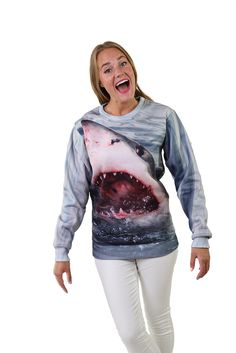 Shark Sweatshirt by Beloved Shirts