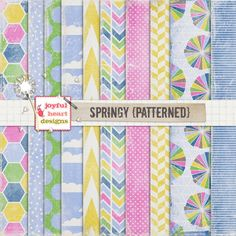 Springy (patterned) | Joyful Heart Designs