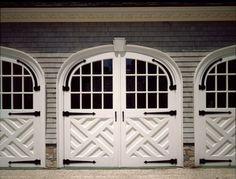 Chippendale garage doors,